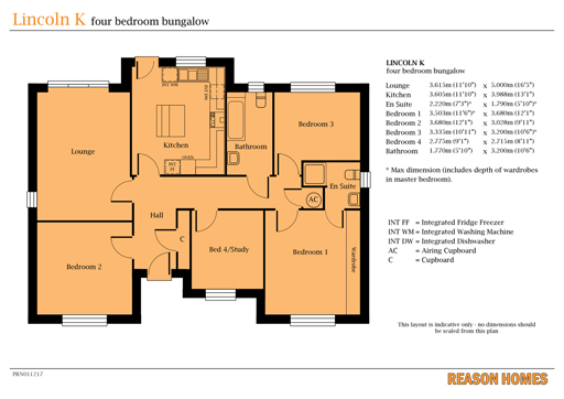 Reason Homes - Plan View